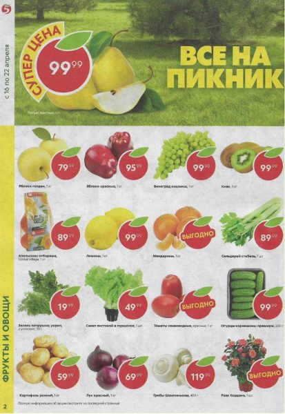 Каталог Пятерочка 16-22.04.2019 стр.2