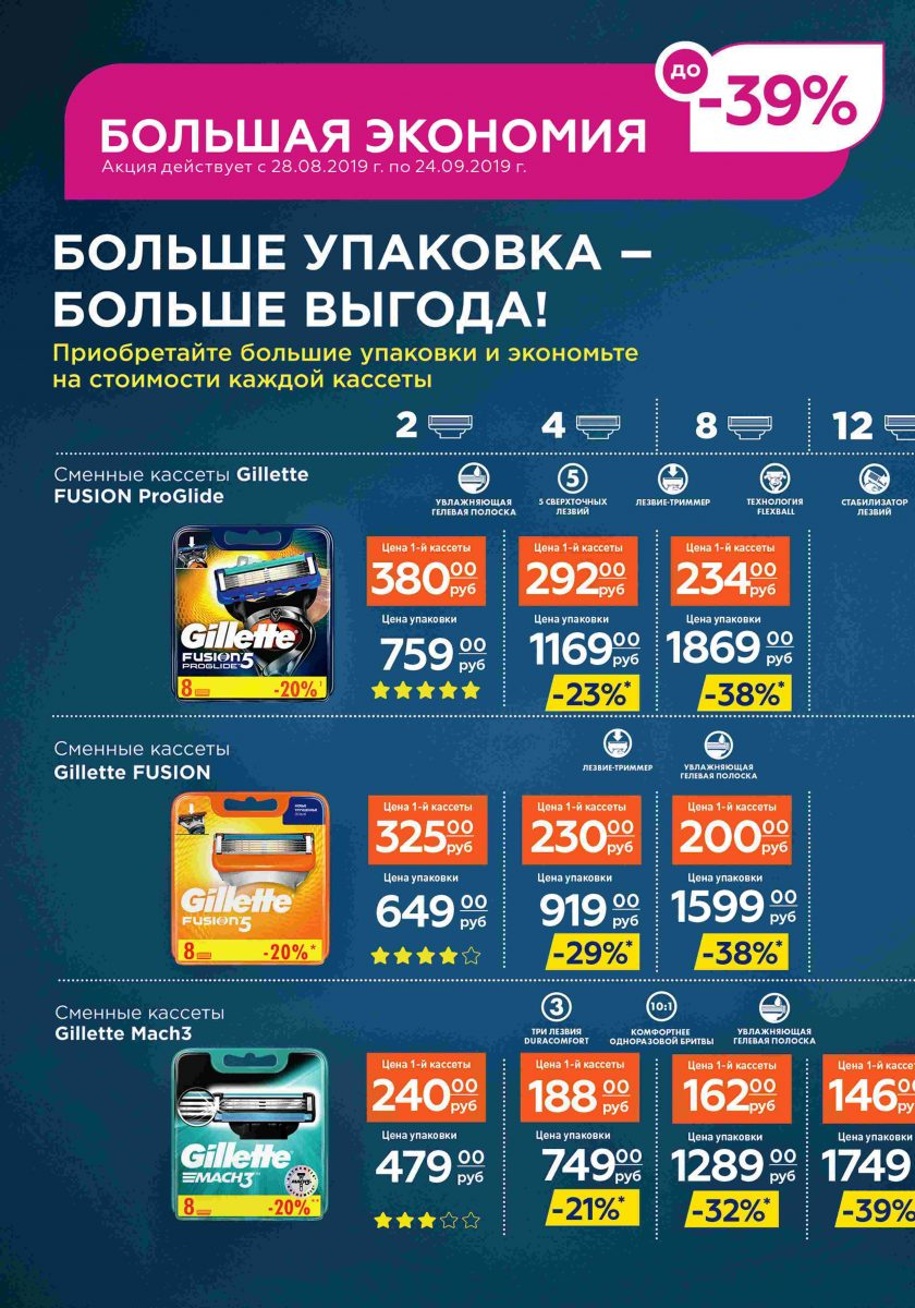 Каталог МАГНИТ КОСМЕТИК 28-08.-24.09.2019 стр. - 0054