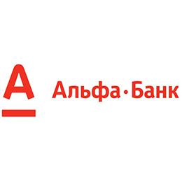 Логотип Альфа банк 260х260