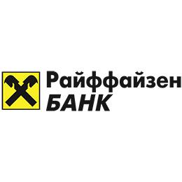 Логотип Райффайзен банк 260х260