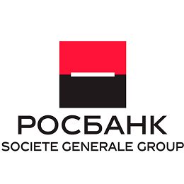 Логотип Росбанк 260х260